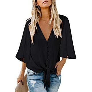 Modetrends 2021 - Freizeit Mode Ttrends_Titelbild schwarze Bluse