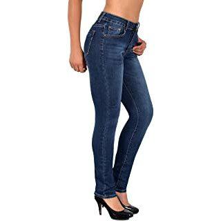 Modetrends 2021 - Frau mit Jeans und schwarzen Pumps